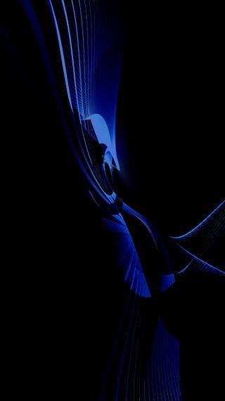 Обои на телефон премиум, черные, синие, абстрактные, fark