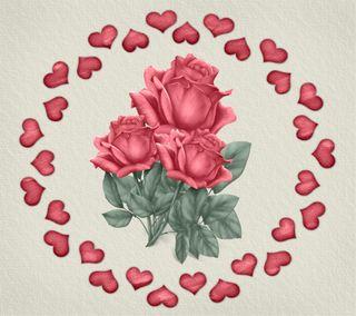 Обои на телефон валентинки, романтика, розы, розовые, любовь, love