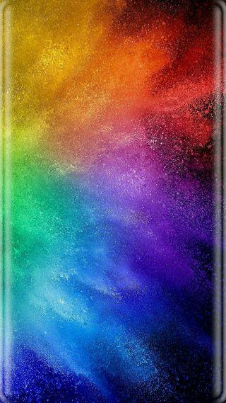 Обои на телефон colorful explosion, абстрактные, дизайн, красочные, цветные, грани, взрыв
