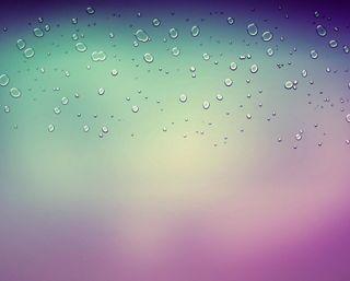 Обои на телефон капли дождя, фиолетовые, капли воды, капли, дождь, вода, абстрактные