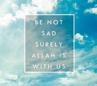 Обои на телефон каран, религия, мусульманские, исламские, ислам, грустные, будь, бог, аллах, be not sad