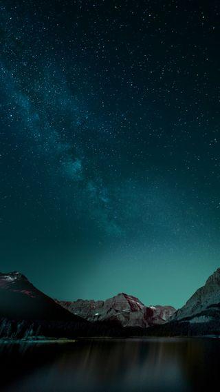 Обои на телефон стандартные, природа, ночь, красота, звезды, vivo xplay 5, quad hd