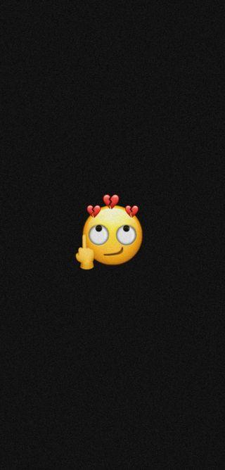 Обои на телефон палец, эмоджи, черные, средний, природа, пабг, ненависть, музыка, мобильный, любовь, забавные, middle finger, love