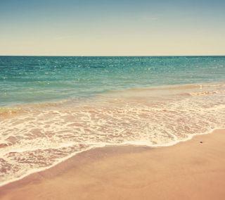 Обои на телефон берег, море, лето, вода