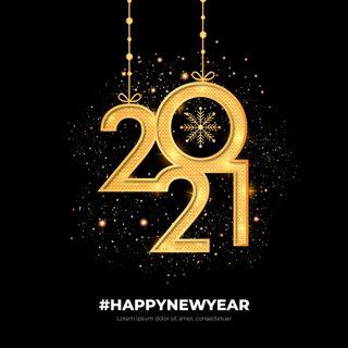 Обои на телефон черные, счастливые, новый, золотые, год, будущее, happy new year 2021, black gold, 2021