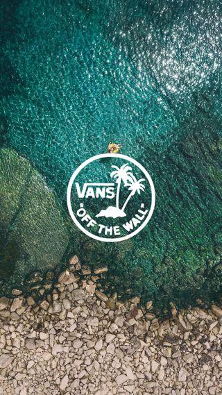 Обои на телефон фотография, пляж, логотипы, гугл, бренды, vans, pixel, lagoon, google, 2018