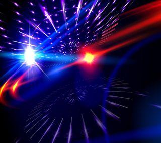 Обои на телефон танец, шаблон, свет, освещение, light pattern, disco, 3д, 3d