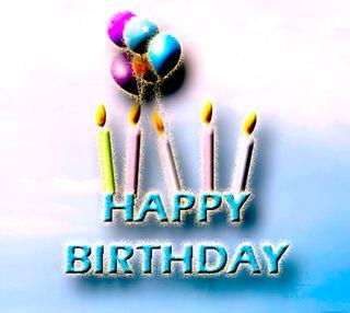 Обои на телефон пожелание, счастливые, свечи, поговорка, день рождения, happy