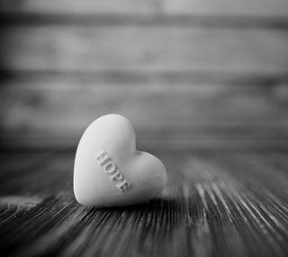 Обои на телефон надежда, фон, сердце, белые, white heart hope, hope heart