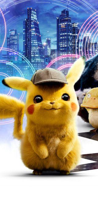 Обои на телефон пикачу, фильмы, покемоны, detective pikachu