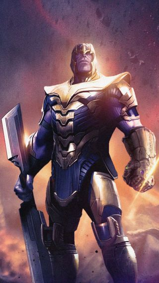 Обои на телефон финал, танос, мстители, меч, марвел, marvel