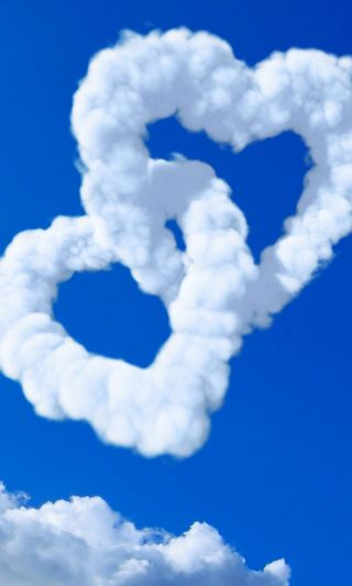 Обои на телефон сердце, самсунг, небо, любовь, галактика, love, hearts hd, druffix