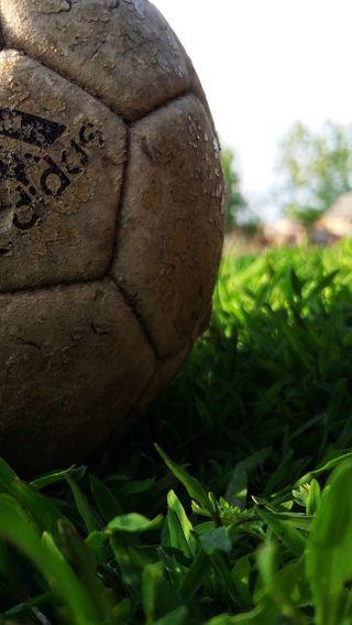 Обои на телефон лето, футбол, природа, мяч, адидас, adidas