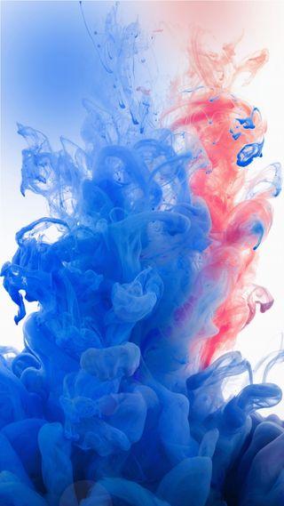 Обои на телефон дым, синие, приятные, прекрасные, красые, красочные, абстрактные