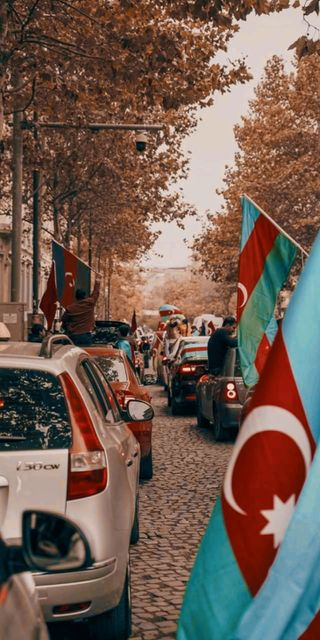 Обои на телефон флаги, флаг, победитель, день, азербайджан, the winner day, karabakh