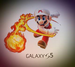Обои на телефон нинтендо, марио, галактика, nintendo, galaxy s5