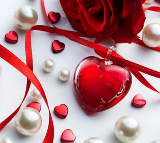 Обои на телефон сердце, розы, любовь, день, 2160x1920px, love