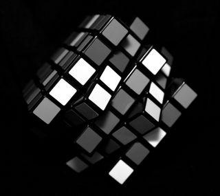 Обои на телефон пазлы, куб, магия, rubiks cube, combination, 3д, 3d