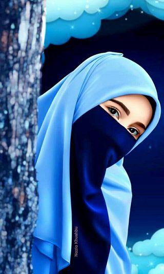 Обои на телефон хиджаб, исламские, девушки, аниме, islamic hijab girl, hijab girl