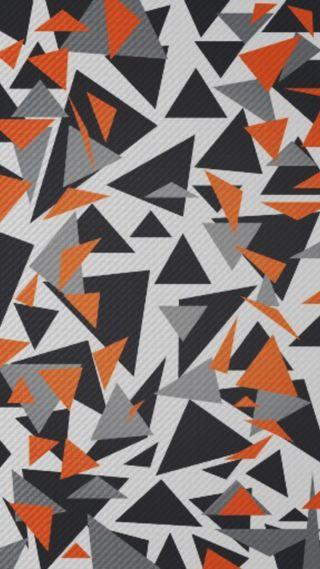 Обои на телефон камуфляж, будущее, оранжевые, абстрактные