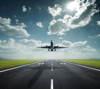 Обои на телефон технологии, самолет, природа
