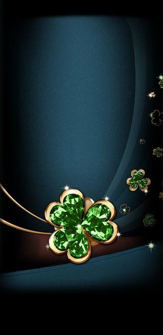 Обои на телефон клевер, ирландские, сверкающие, праздник, зеленые, драгоценность, st pats jewels, pats