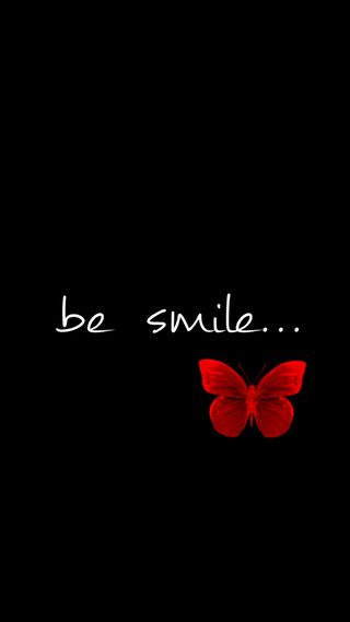 Обои на телефон beterfly, black red, happy, look screen, be smile, черные, красые, счастливые, взгляд, смайлики, экран, счастье, один, смайлы, будь, лица