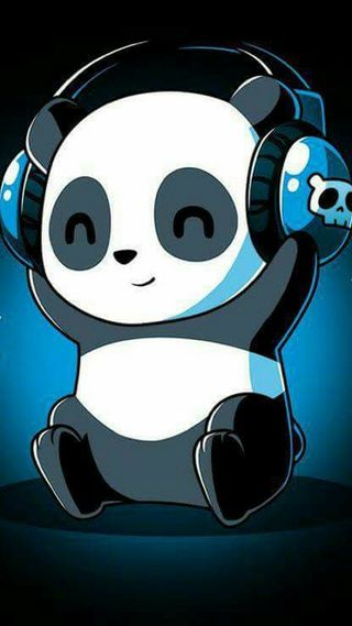 Обои на телефон чилл, панда, pandaute