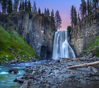 Обои на телефон водопад, приятные, взгляд