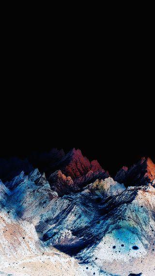 Обои на телефон красота, природа, ночь, красочные, горы, the beauty of nature, s7