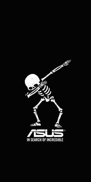 Обои на телефон череп, скелет, про, пираты, макс, логотипы, асус, skeleton asus zenfon, m1, asus, 4k, 2018