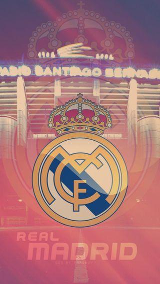 Обои на телефон мадрид, стена, спорт, реал, логотипы, real madrid logo, hd