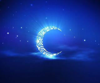 Обои на телефон абстрактные, луна, ислам, исламские, мусульманские, рамадан, арабские
