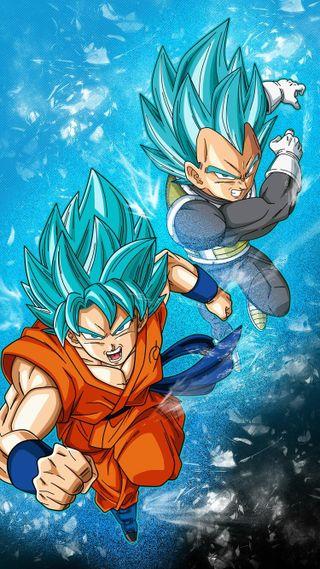 Обои на телефон сайян, супер, синие, мяч, дракон, бог, super saiyan blue, dragon