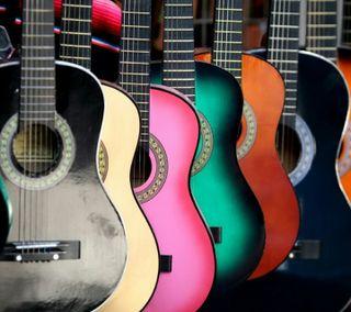 Обои на телефон гитара, музыка