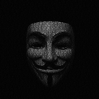 Обои на телефон анонимус, маска