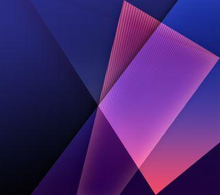 Обои на телефон полосы, цветные, свет, плавные, крутые, дизайн, галактика, абстрактные, s4, galaxy