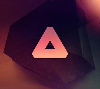 Обои на телефон треугольник, галактика, абстрактные, triangle00, galaxy s3, galaxy nexus