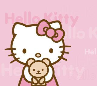 Обои на телефон привет, розовые, милые, котята, девчачие