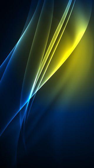 Обои на телефон линии, черные, светящиеся, роскошные, приятные, матовые, золотые, аврора, абстрактные, radial aurora, luxury, hd