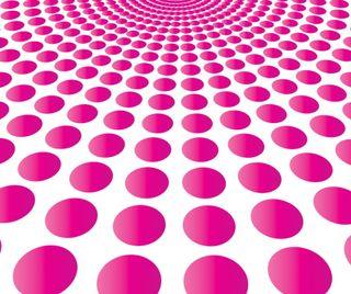 Обои на телефон круги, розовые, абстрактные