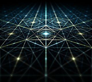 Обои на телефон шестиугольники, геометрические, текстуры, свет, линии, texture v1