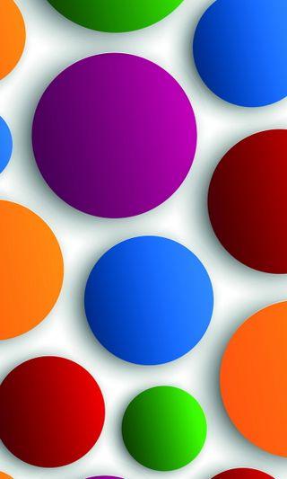 Обои на телефон точки, фон, красочные, абстрактные, abstract dots colorful, 3д, 3d background, 3 d background