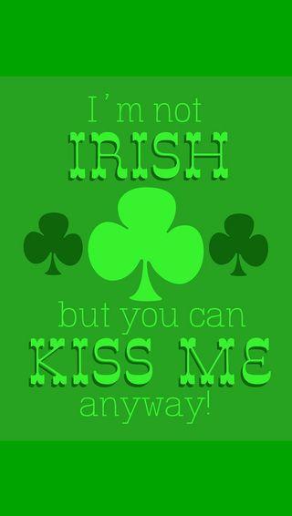 Обои на телефон ирландские, я, поцелуй, день
