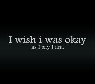 Обои на телефон пожелание, цитата, поговорка, огорчение, новый, крутые, жизнь, в порядке, i wish