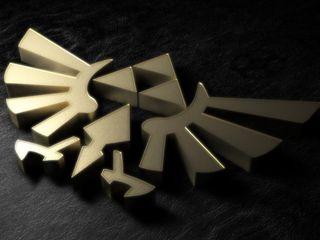 Обои на телефон новый, зельда, triforce, link, 2012