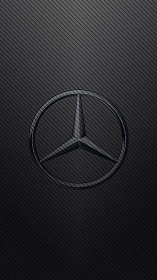 Обои на телефон немецкие, черные, мерседес, логотипы, карбон, mercedes