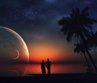 Обои на телефон любовники, пара, мечта, любовь, lovers dream, love
