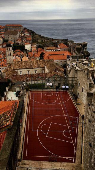 Обои на телефон баскетбол, спортивные, секрет, нба, zedgebball18, secret court, nba
