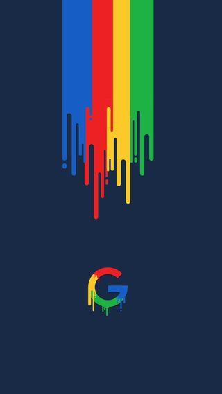 Обои на телефон pixel, s7, google, грани, гугл